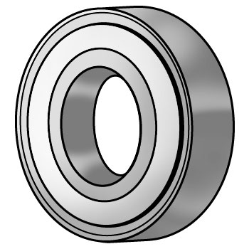 Polylube Bearing (Deep Groove Ball Bearing)