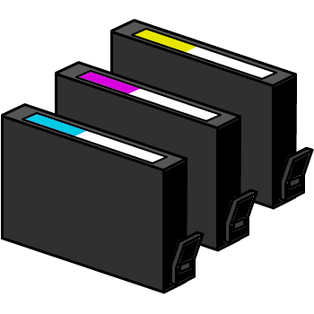 Tinta Cartridge (Kompatibel HP, NEC)