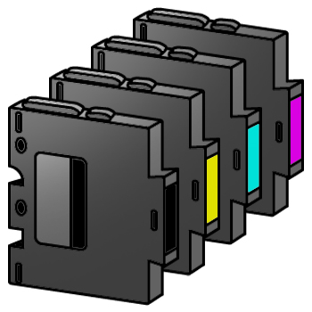 Tinta Cartridge (Kompatibel Ricoh)