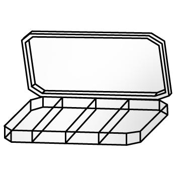 Kotak Penyimpanan Artikel Kecil