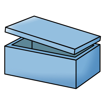 Kotak Pendingin, Wadah