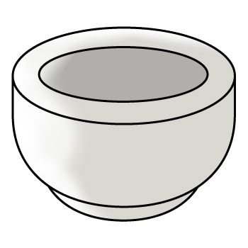 Lumpang Porselen