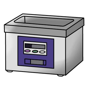 Pembersih Alat Kerja, Pembersih Ultrasonik